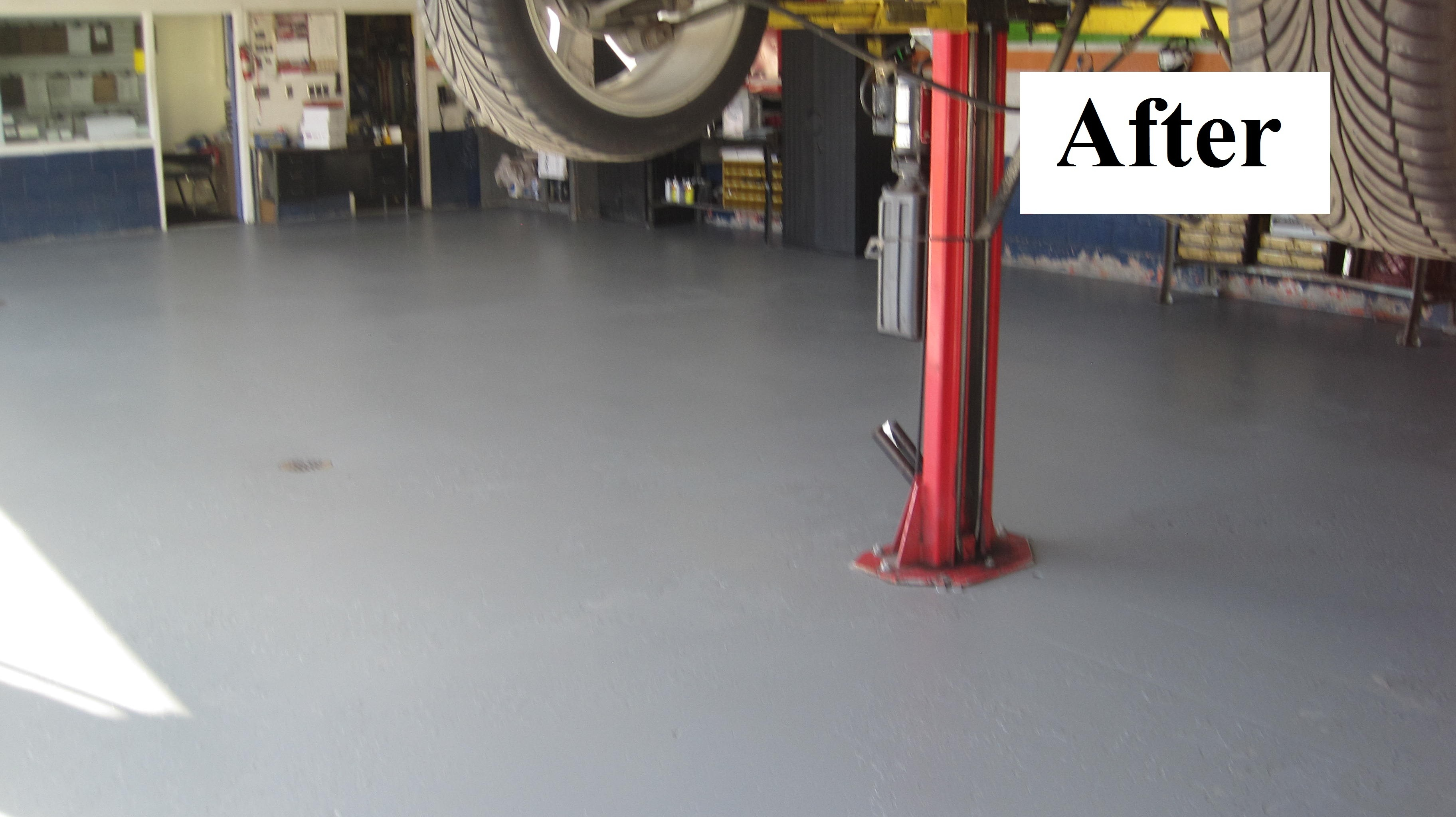 Epoxy garage floor cost per square foot for Garage square foot cost