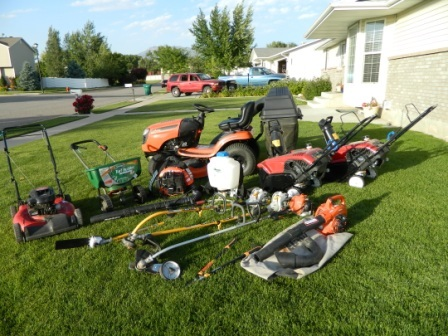 Landscaping ideas for the backyard for Landscaping tools for sale