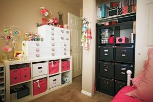 Studio 5 diy craft room organization whether you have an entire room or a small corner of your home i think youll find these do it yourself organization ideas easy affordable and practical solutioingenieria Gallery