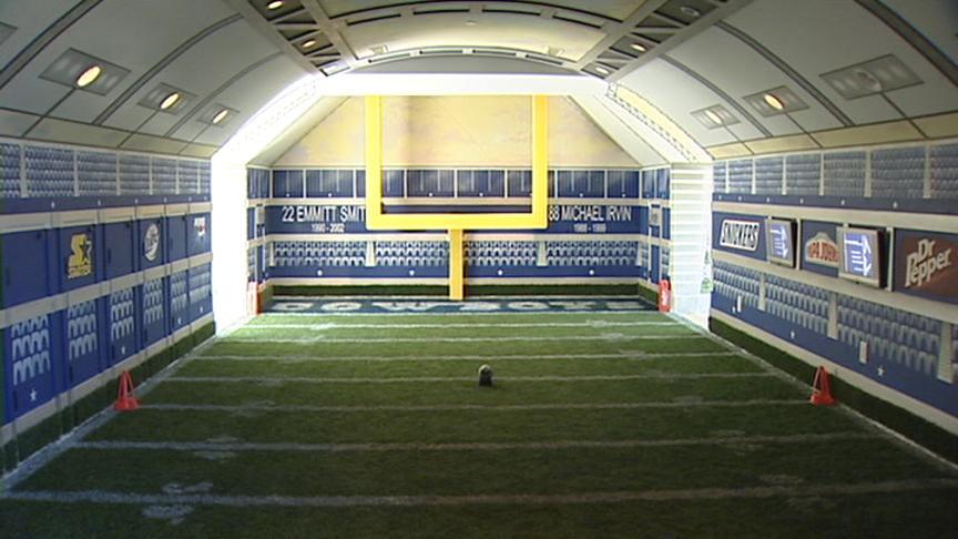 Dallas Cowboys Painted Rooms