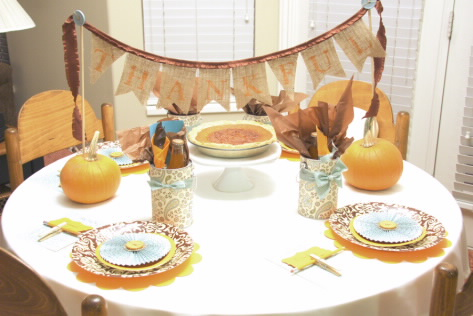 Studio 5 - 4 Fresh Thanksgiving Tablescapes