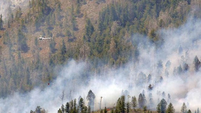 Additional resources sent to Church Camp Fire