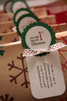Creative 12 days of christmas gift ideas