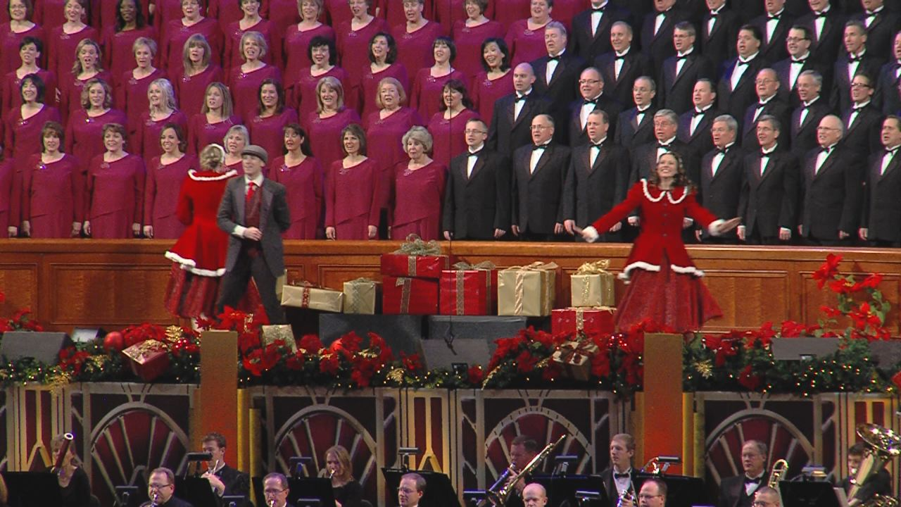 Mormon Tabernacle Choir kicks off Christmas concert | KSL.com