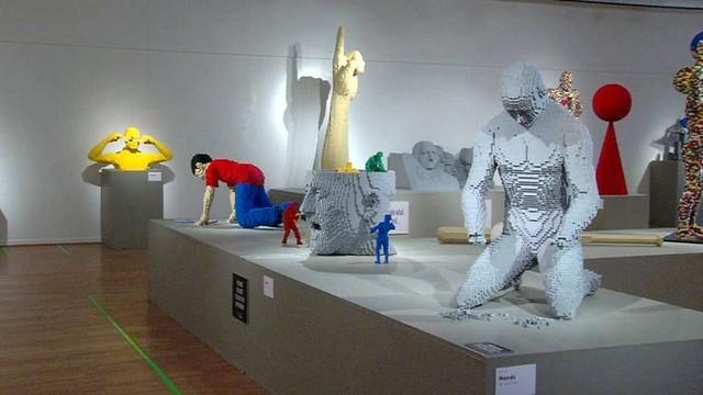 LEGO artist brings life-size sculptures to Park City | KSL.com