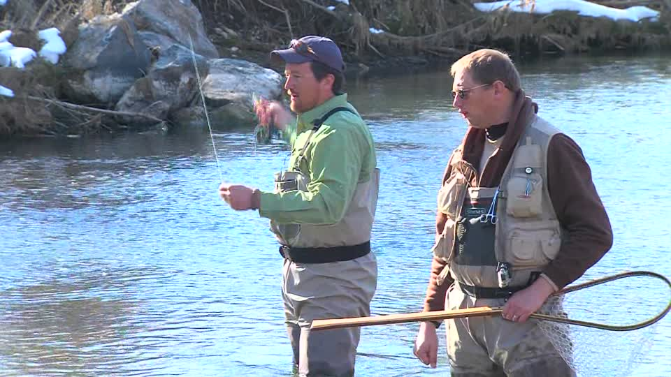 Ksl outdoors ksl outdoors fly fishing the weber river for Weber river fishing report