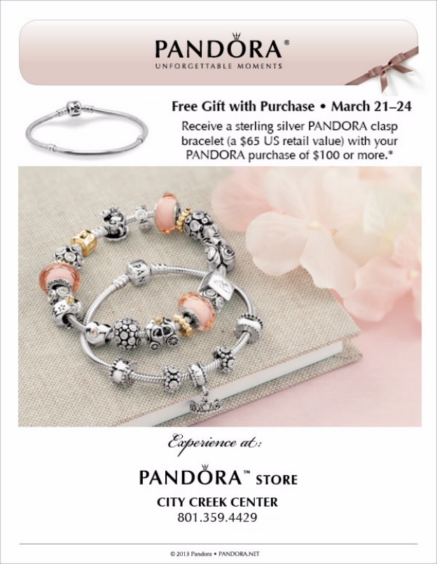 Studio 5 pandora bracelet event for Pandora jewelry salt lake city