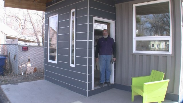 Slc man makes houses out of shipping containers - Shipping container homes utah ...