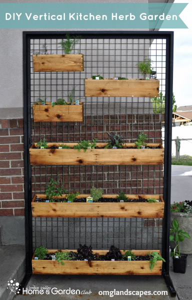 Studio 5 vertical patio garden for Balcony vertical garden