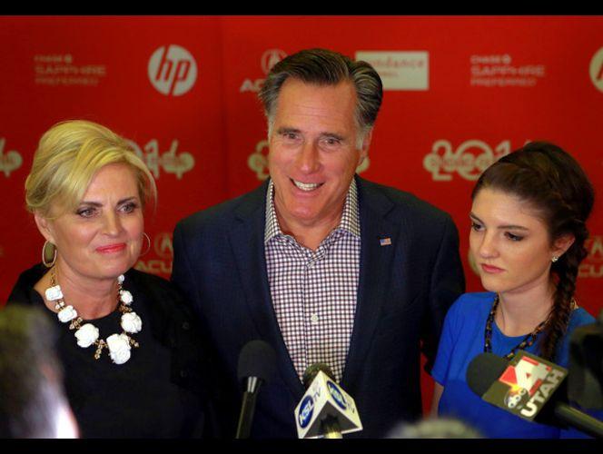 Audience sees new side of Mitt Romney in Sundance documentary