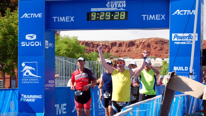 Ironman 70.3 St. George. All five of my brother's did it!