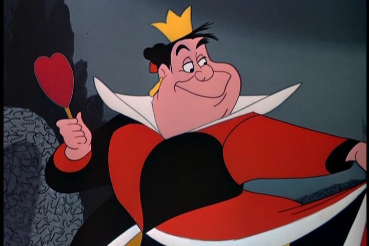5 of Disney's most evil villains | KSL.com Queen Of Hearts Alice In Wonderland Disney