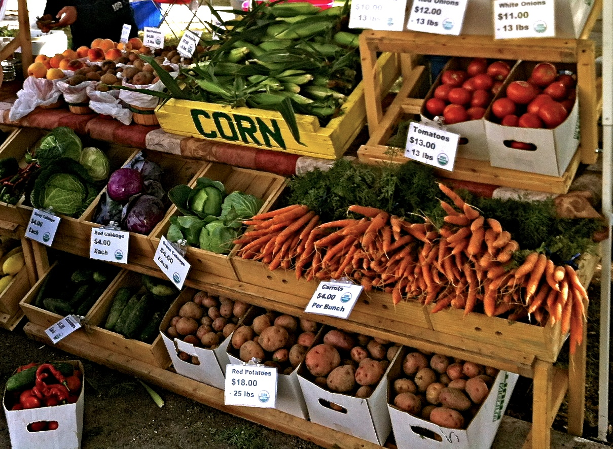 Double your food stamp benefits at the Downtown Farmers Market