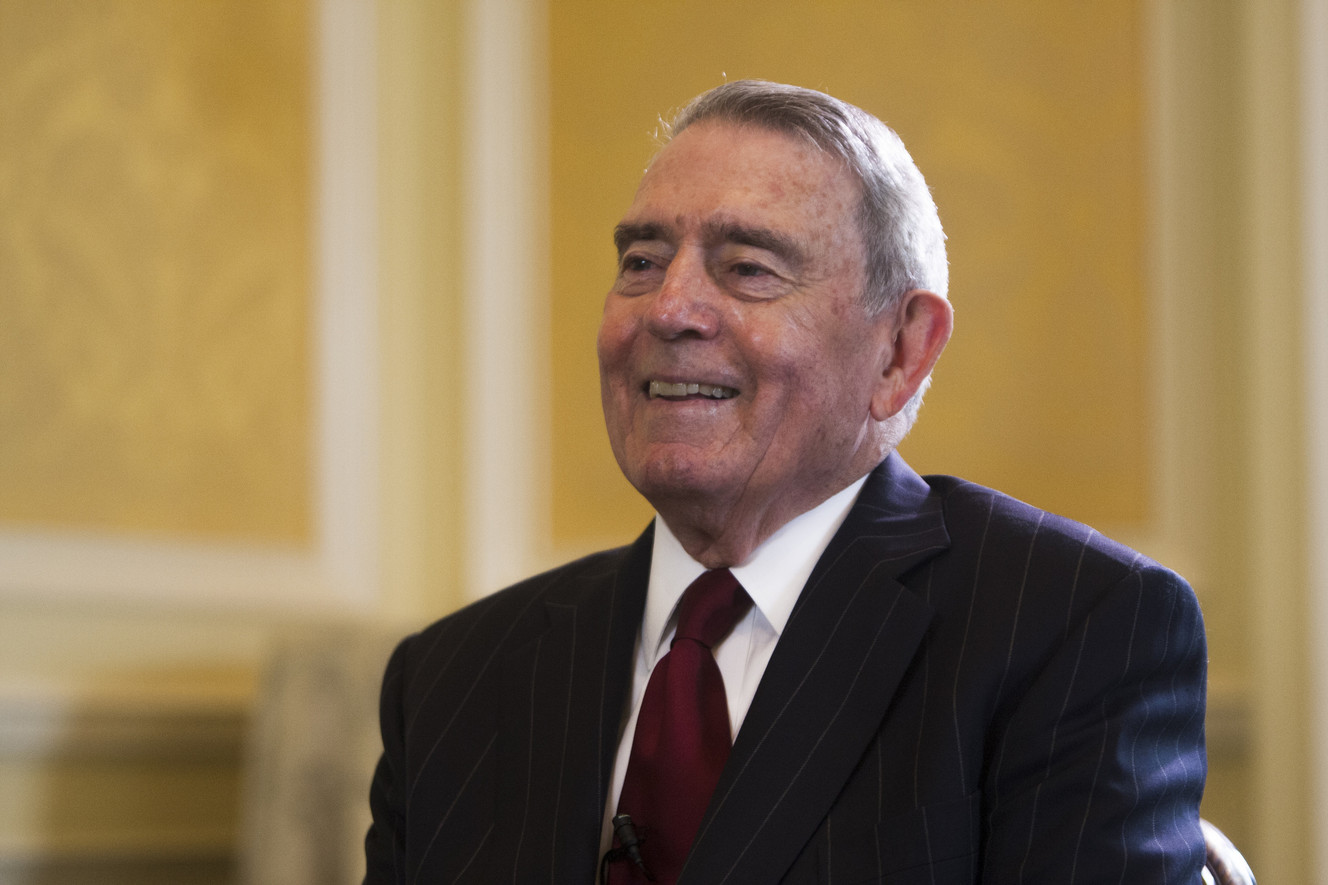 Dan Rather discusses state of journalism with Utah businesses