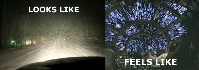 Image result for driving in snow star wars