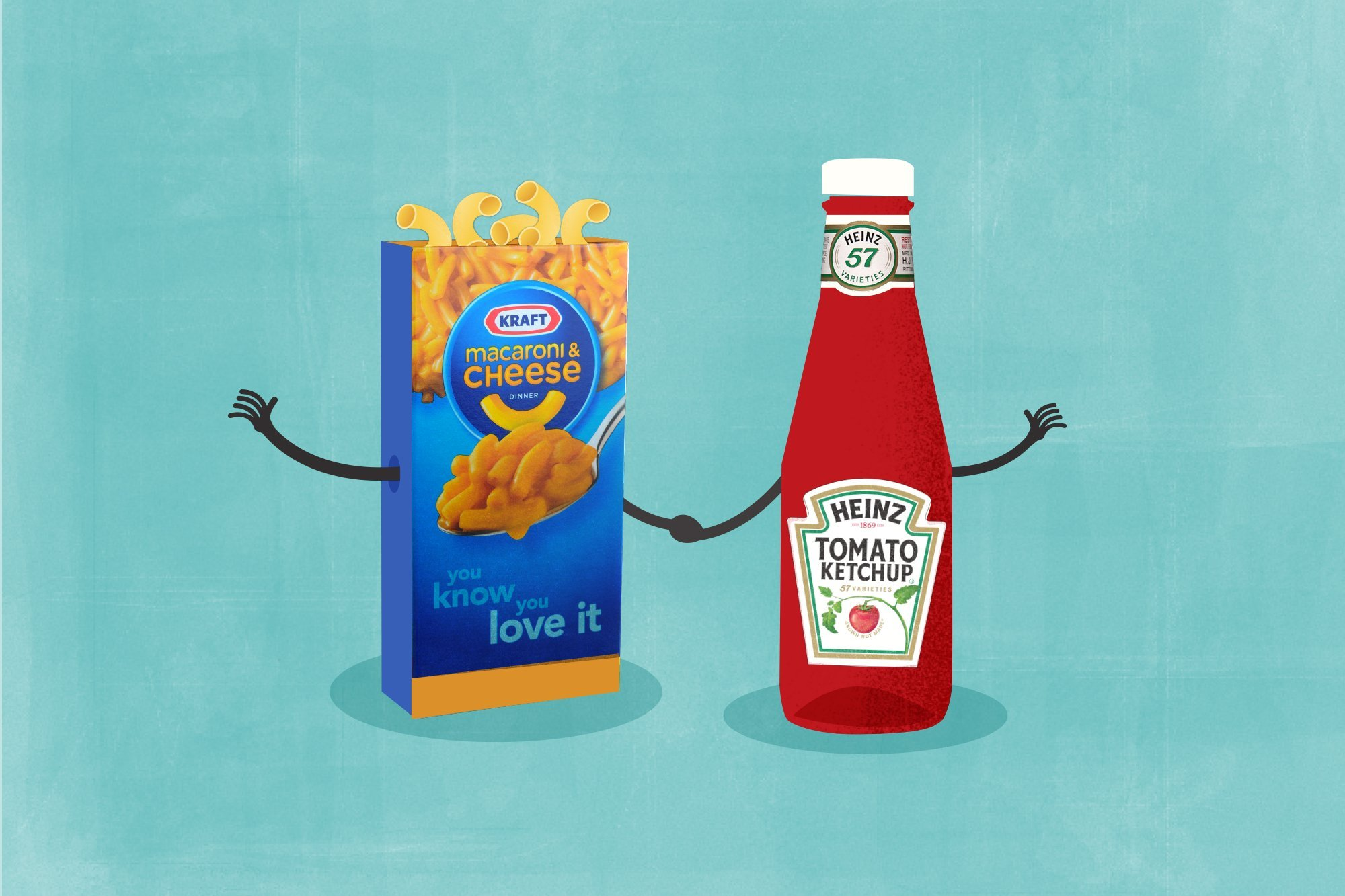 Kraft and Heinz merger to create food giant