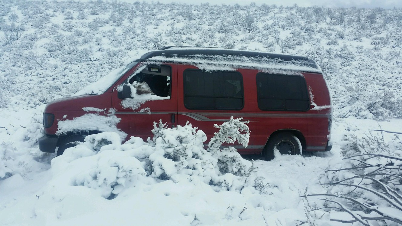 Body of missing father found months after van got stuck