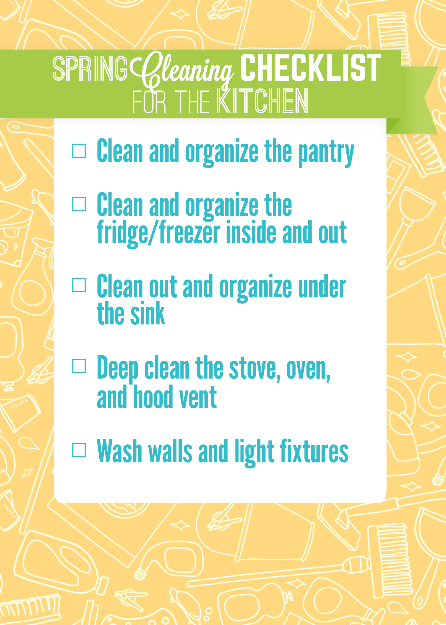 Studio 5 - Spring Cleaning Checklist for Your Kitchen