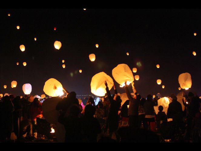 Video: Utah's 2nd Lantern Fest draws thousands to illuminate night sky