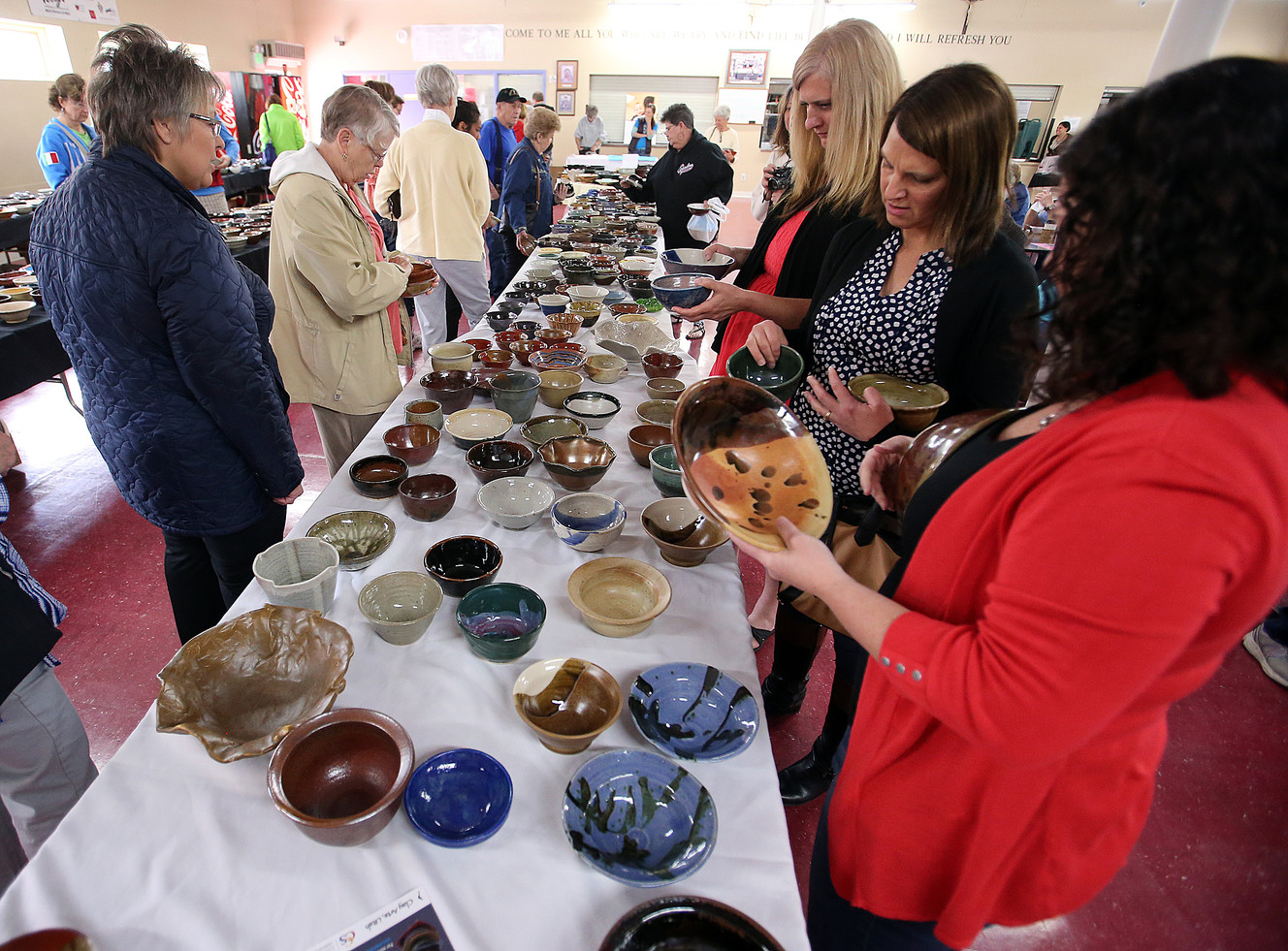 local soup kitchen sells empty bowls to feed the homeless | ksl