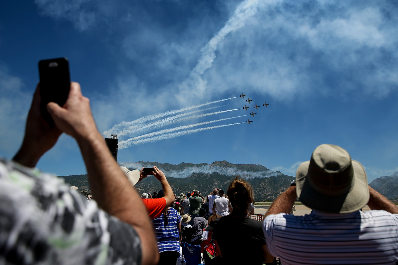 'Warriors Over the Wasatch' on track to exceed 600,000 attendance