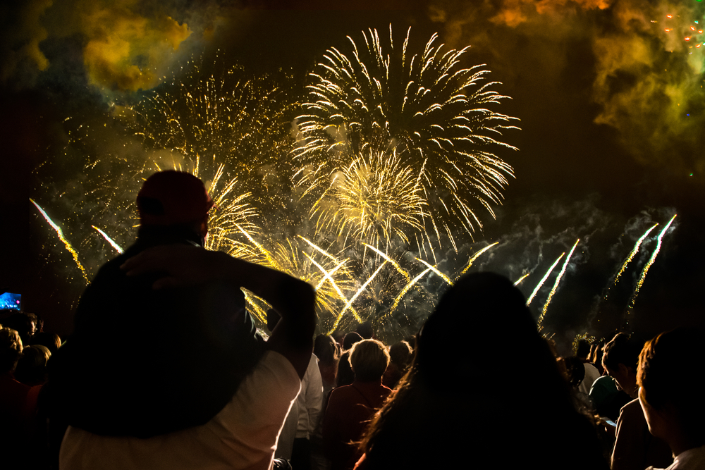 4th of July fireworks shows in Utah
