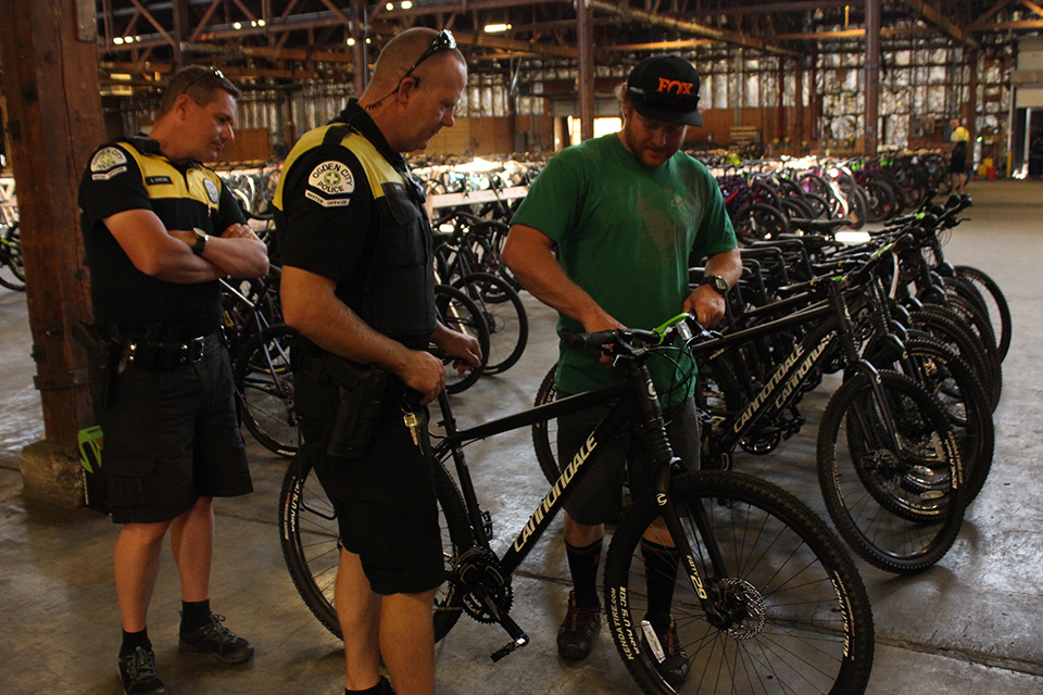 Business says thanks by donating 10 bicycles to Ogden police