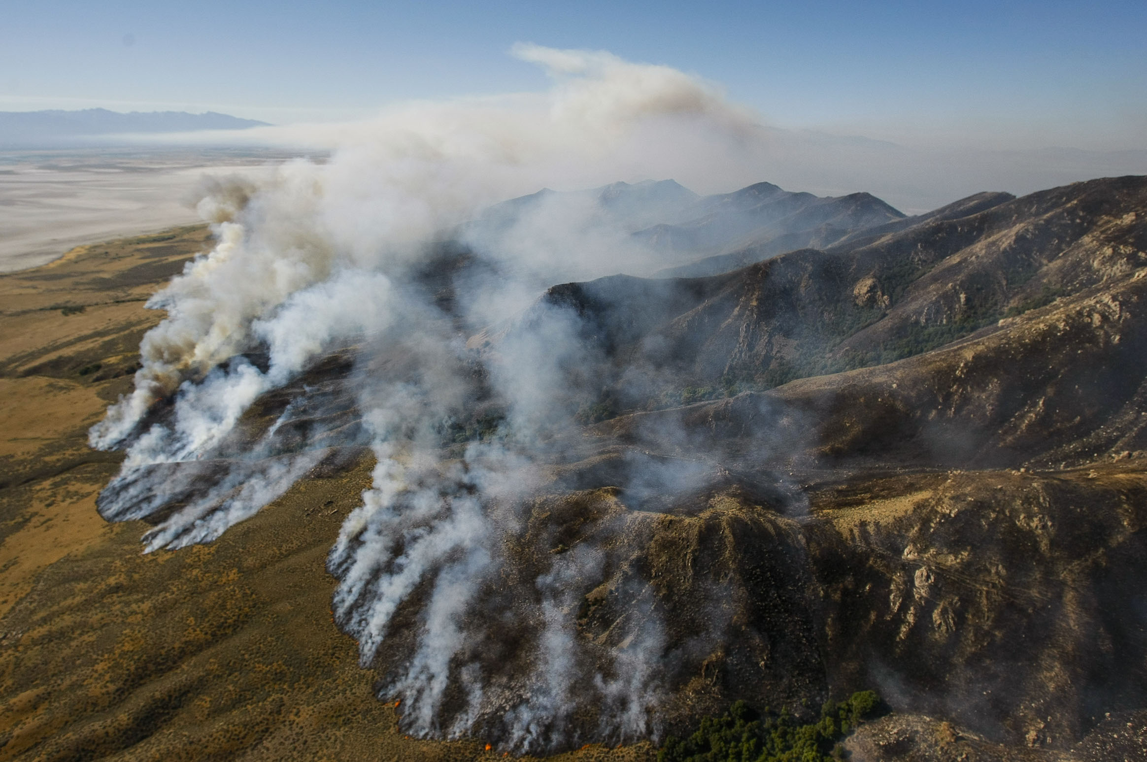 13,740 acres burned in Antelope Island fire