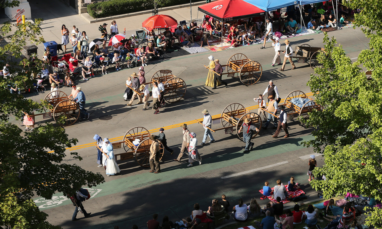 Thousands enjoy the 169th Days of '47 Parade in Salt Lake City
