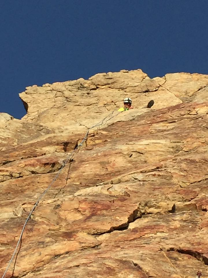 Man dies while rock rappelling with friends in Rock Canyon