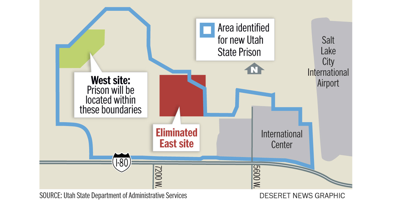 State now focused on single site near airport for new prison