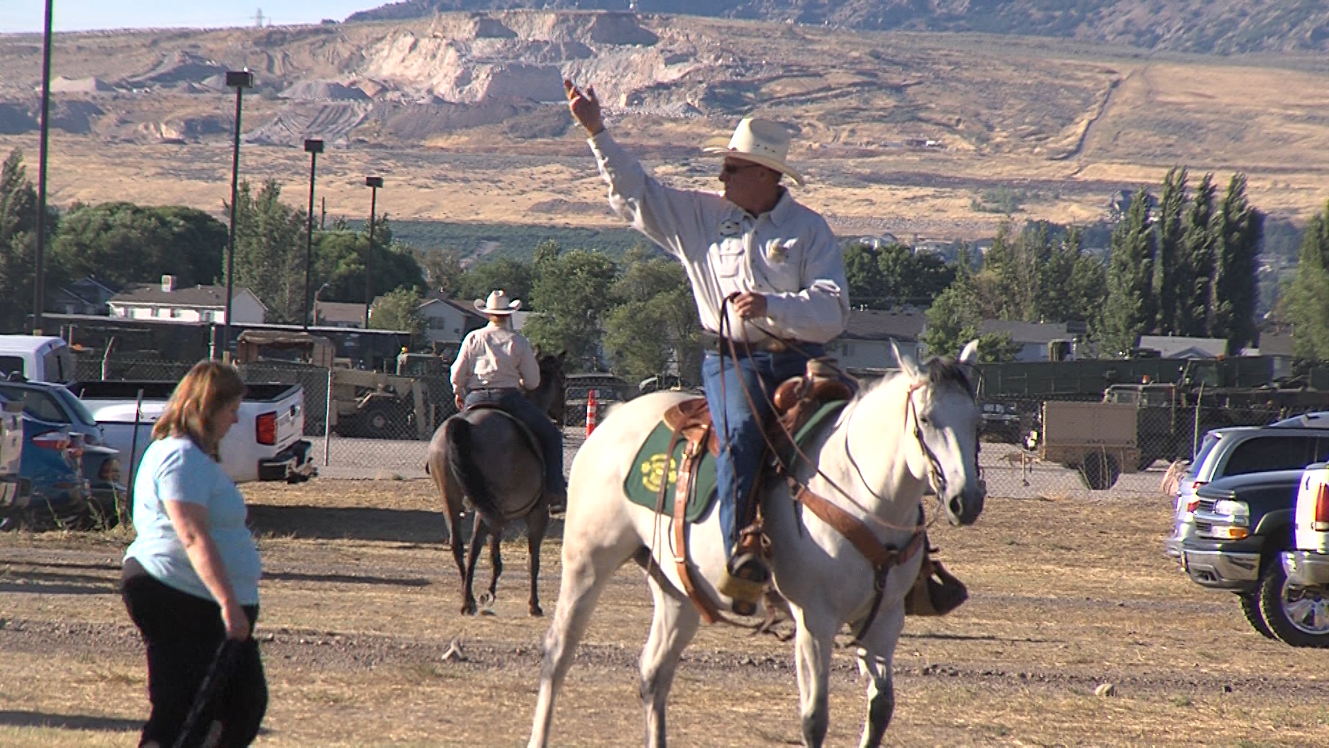 Sheriff's Mounted Posse keeps western traditions alive in Weber County