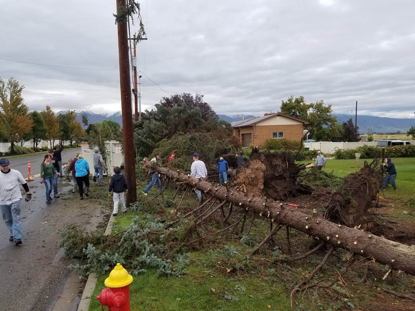 Cleanup continues into weekend following storm, tornadoes