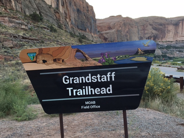 BLM replaces 'Negro Bill' trailhead sign in Moab area