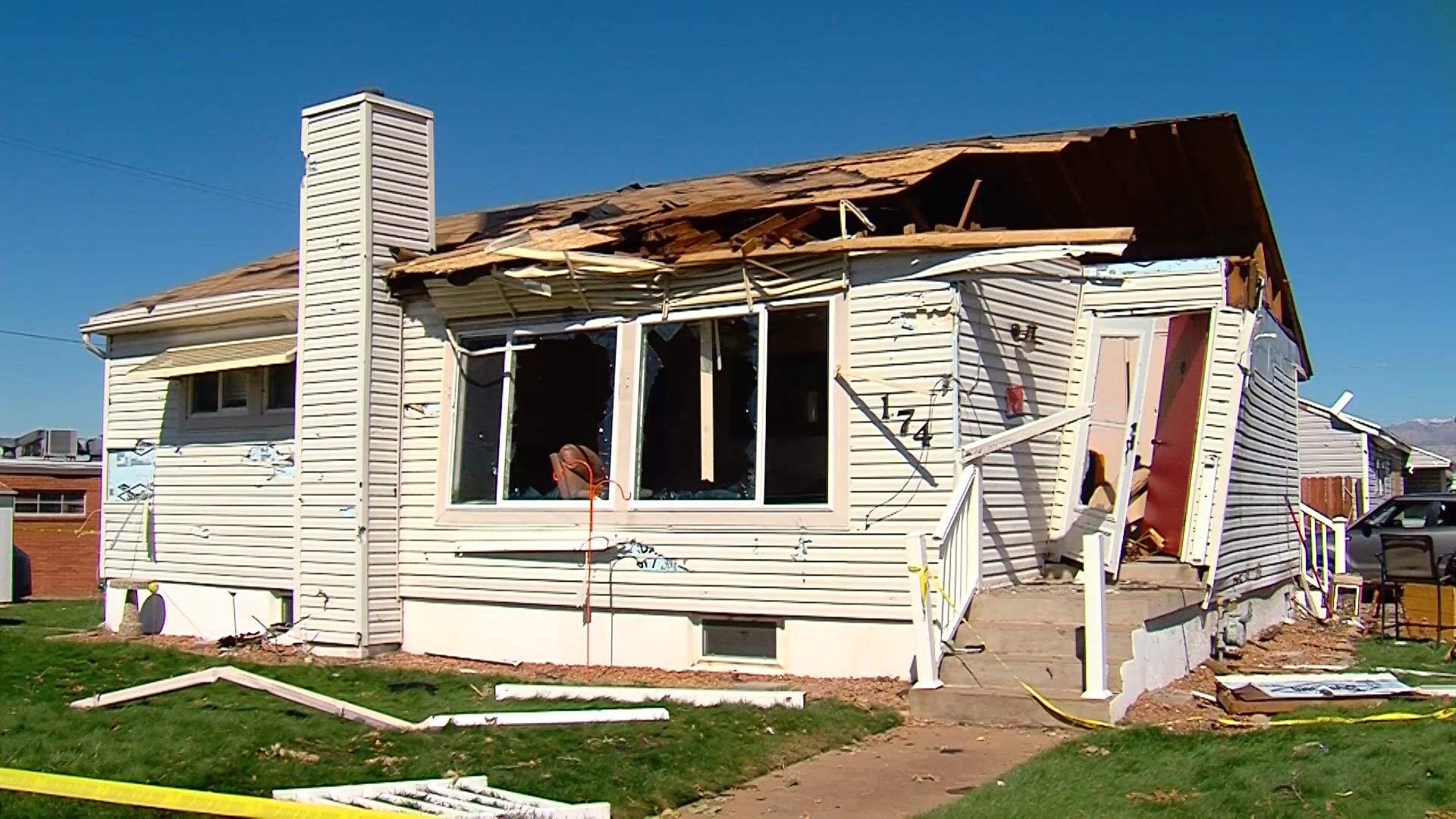 Some homeowners still putting their lives back together nearly a week after Utah tornado