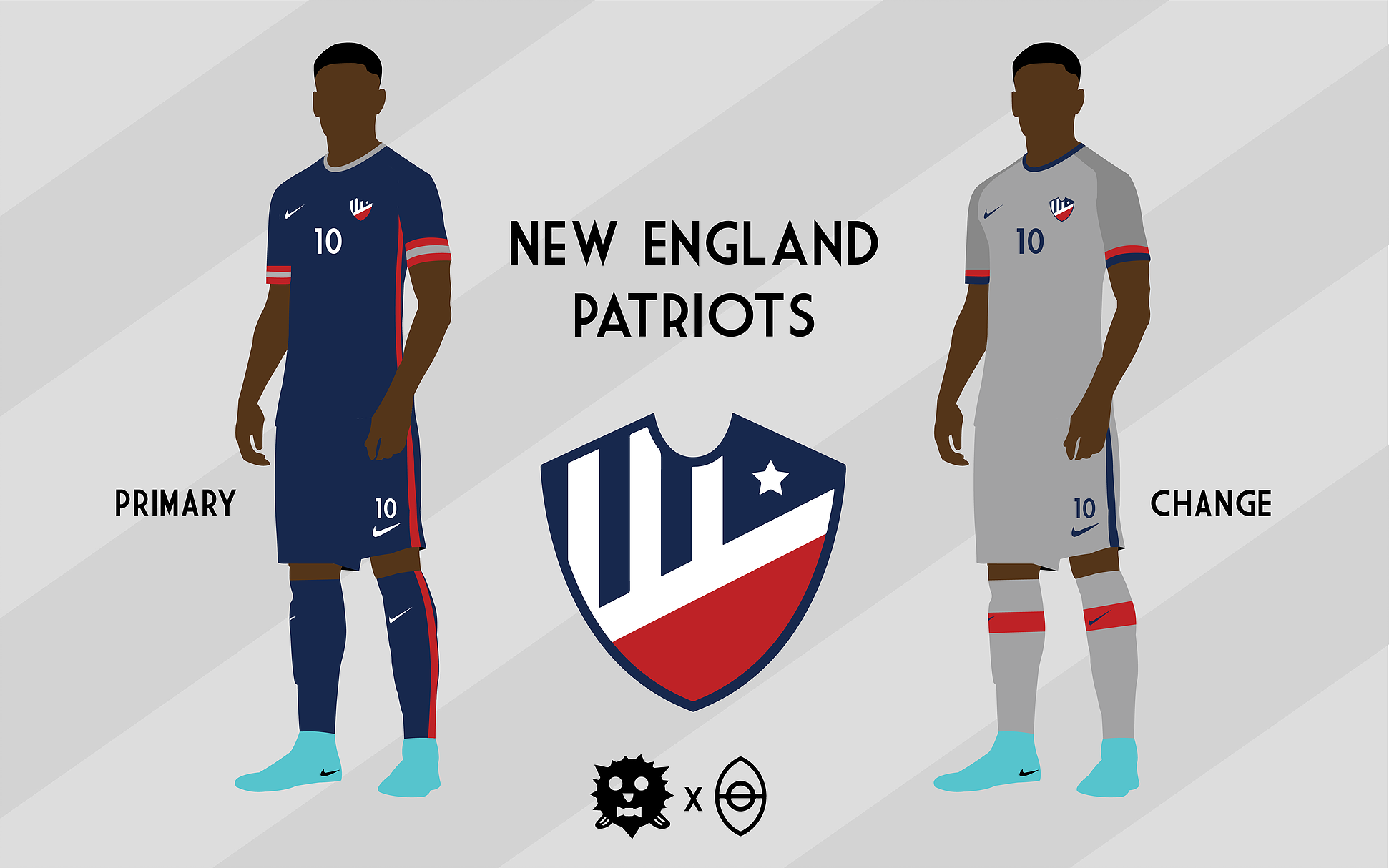Every NFL team's jerseys reimagined as soccer kits