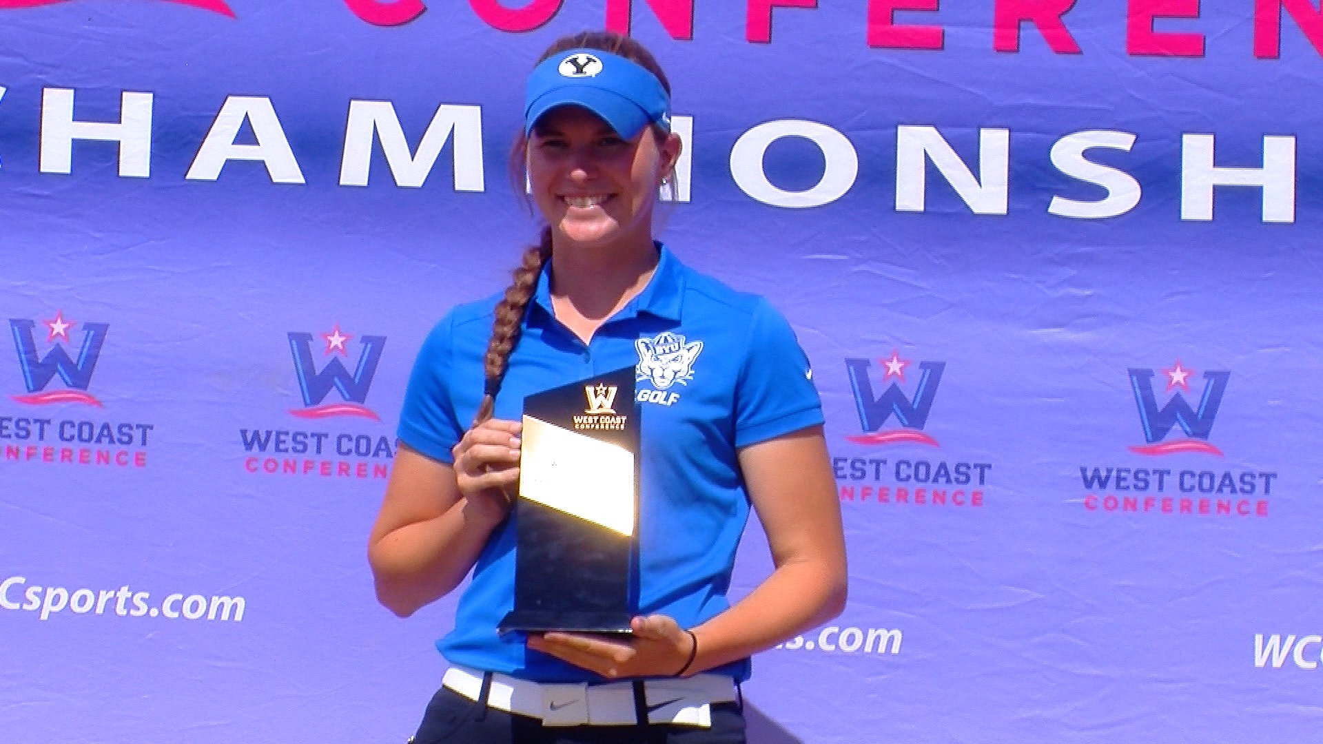 Medalist White leads BYU women's golf to consecutive WCC titles