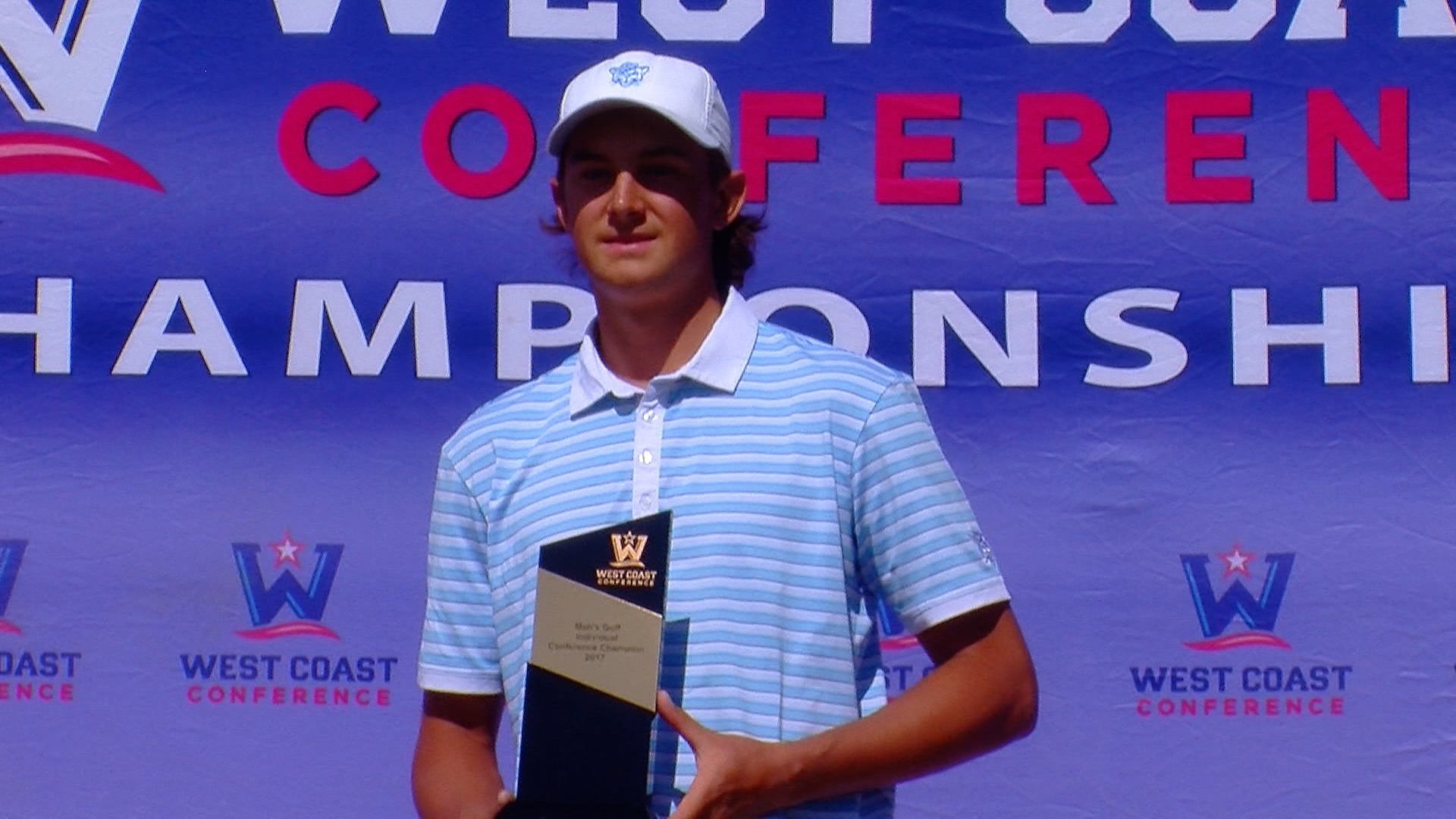 Kuest takes medalist honors as BYU men's golf wins first WCC title since 2014