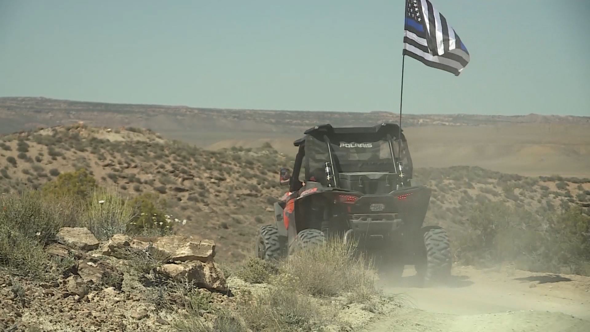 Fallen police officers honored in off-road memorial ride in Moab
