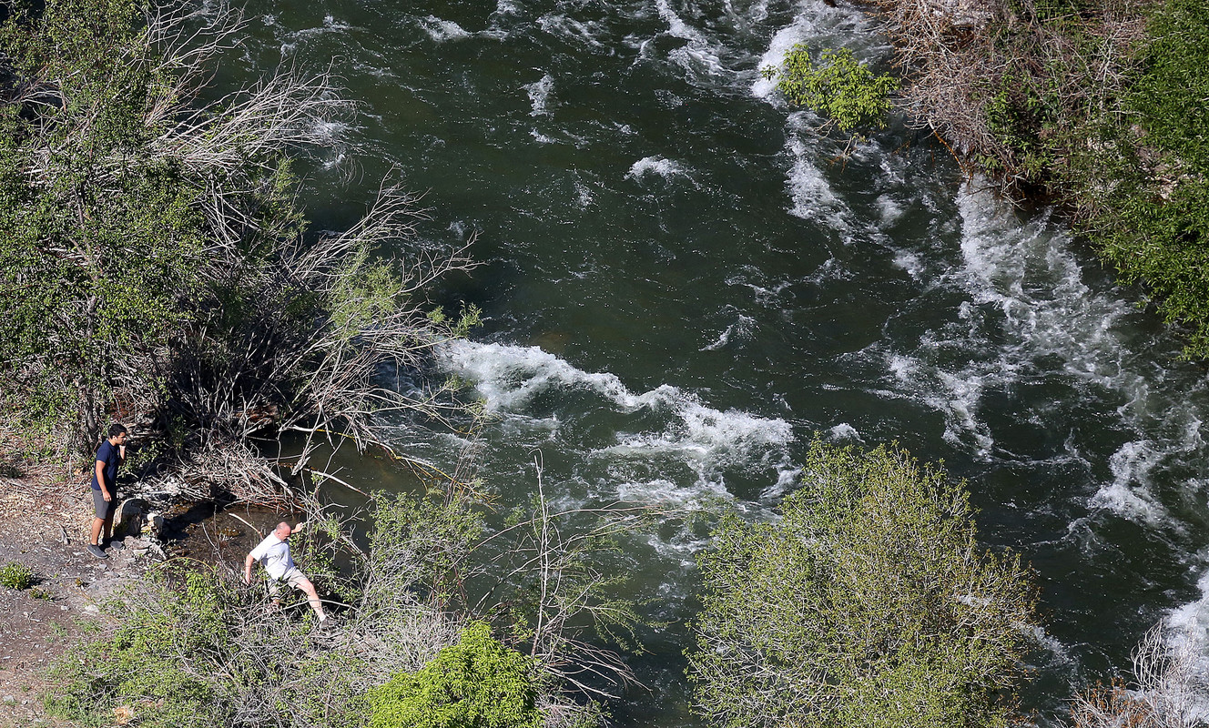 2 dead, 4-year-old child missing after being swept down Provo River