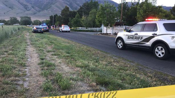 Salt Lake police chase domestic violence suspect; officer ...