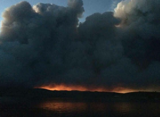 Brian Head Fire reaches 33,000 acres by Friday