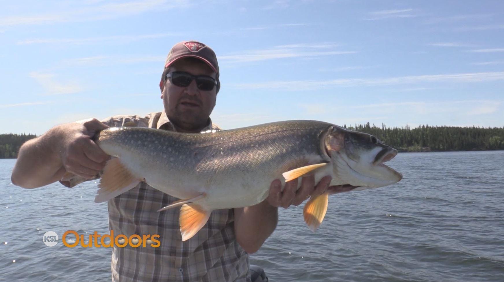 Ksl outdoors fishing at iskwatikan lake lodge part two for Northern utah fishing report