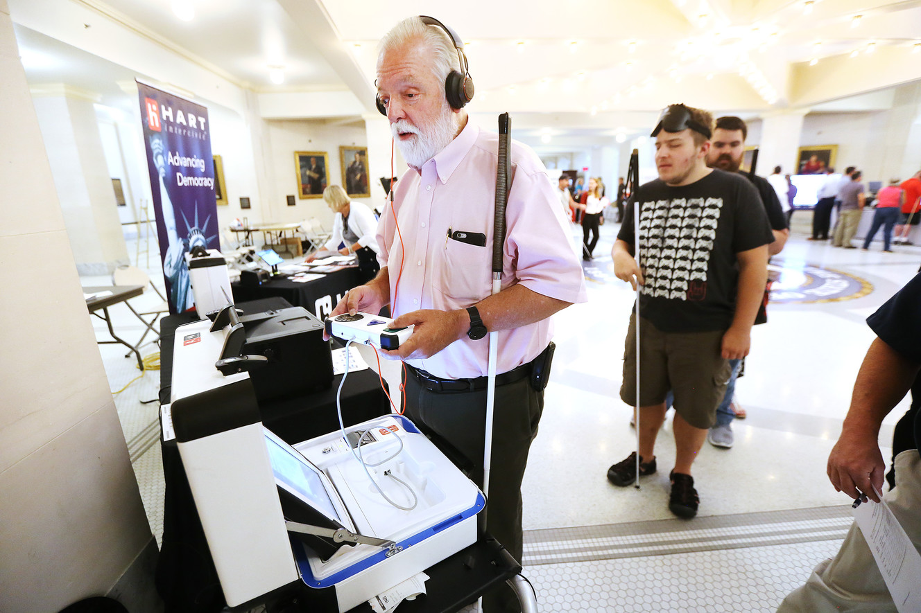 Security on mind as state auditions new voting machines, software