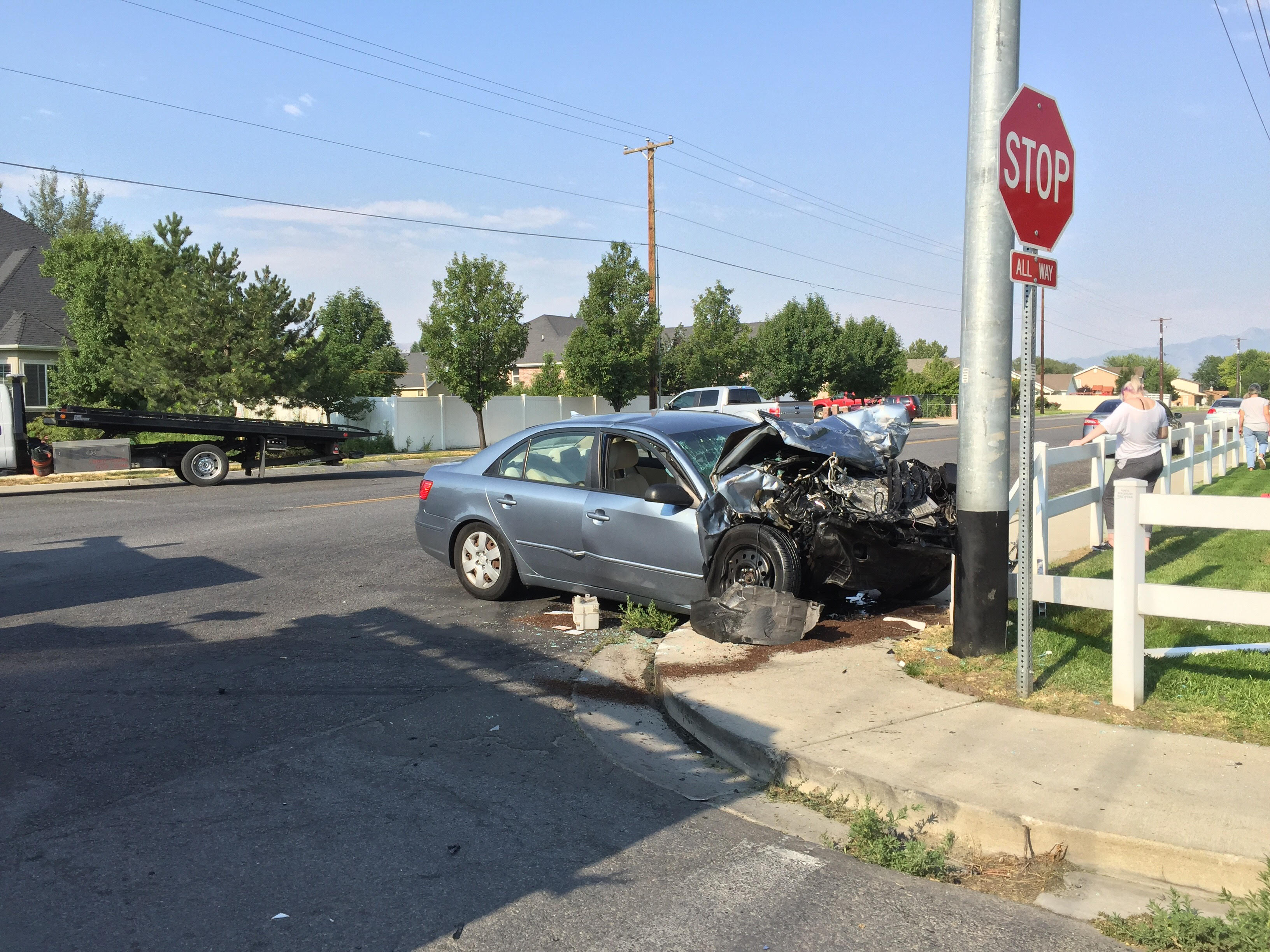 Girl seriously injured in Lehi crash; man arrested on suspicion of DUI