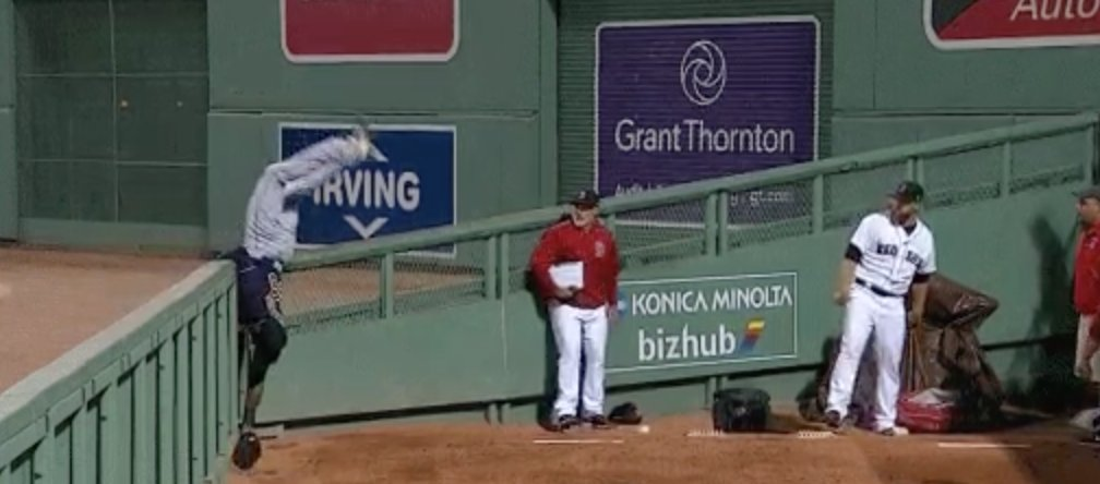 From Left Field: The catch of the year in major league baseball