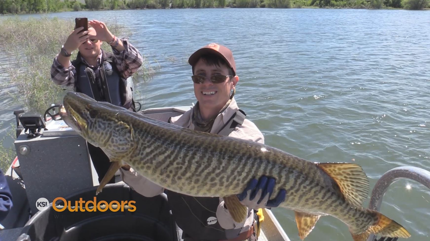 Ksl outdoors fishing for tiger muskie at pineview reservoir for Tiger muskie fishing
