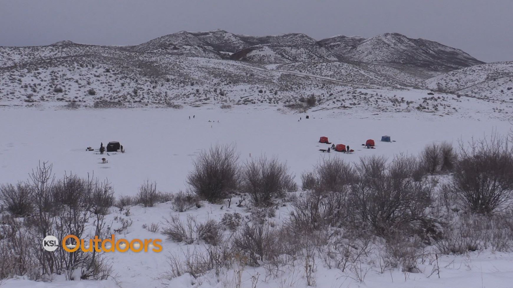 Ksl outdoors ice fishing at east canyon state park for Utah ice fishing report