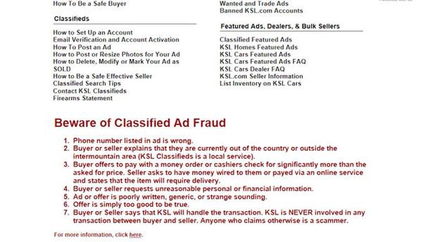 Ring Sale On Ksl Classifieds Uncovers International Cyber Crime Ring