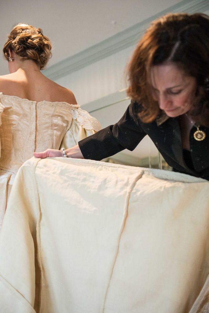 11th family member to wear wedding dress